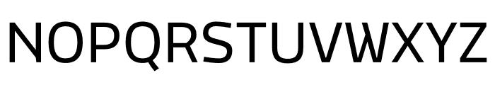 MachoModular Regular Font UPPERCASE