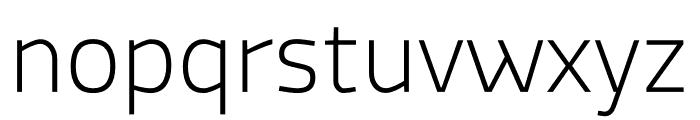 MachoModular Thin Font LOWERCASE