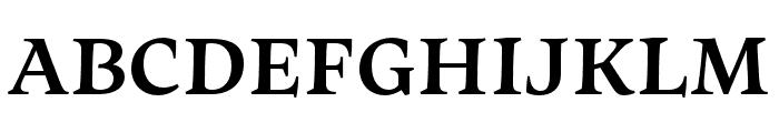 Maecenas ExtraBold Font UPPERCASE