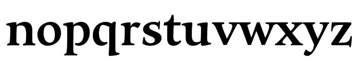 Maecenas ExtraBold Font LOWERCASE