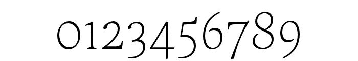 Maecenas Light Italic Font OTHER CHARS