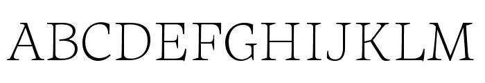 Maecenas Light Italic Font UPPERCASE