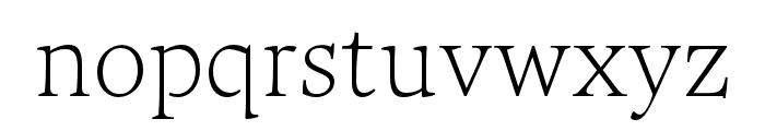 Maecenas Light Italic Font LOWERCASE