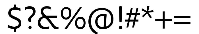 Maecenas SemiBold Italic Font OTHER CHARS