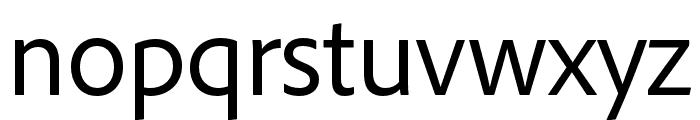 Maecenas SemiBold Italic Font LOWERCASE