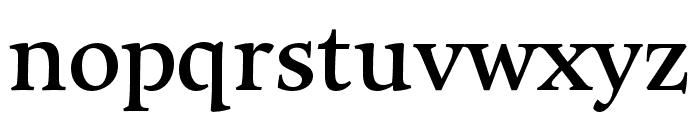 Maecenas UltraBold Font LOWERCASE