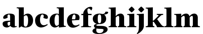 Magneta Condensed Black Font LOWERCASE