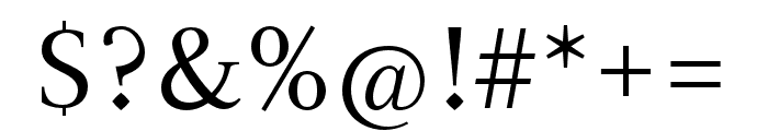 Magneta Condensed Book Font OTHER CHARS