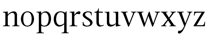 Magneta Condensed Book Font LOWERCASE