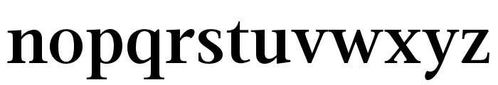Magneta Condensed SemiBold Font LOWERCASE