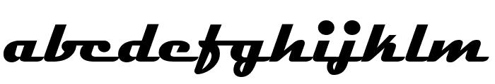 Magneto BoldExtended Font LOWERCASE
