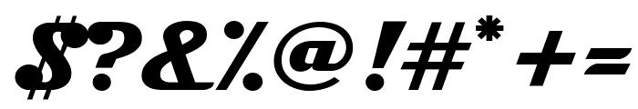 Magneto SuperBoldExtended Font OTHER CHARS