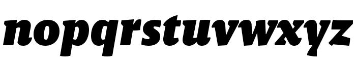 Malaga Narrow OTCE Black Italic Font LOWERCASE
