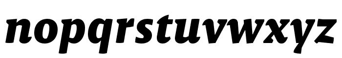 Malaga Narrow OTCE Bold Italic Font LOWERCASE