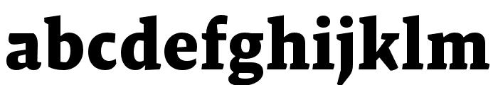Malaga OTCE Bold Font LOWERCASE
