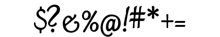 Mama Script Regular Font OTHER CHARS