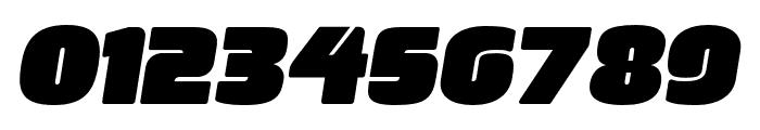 ManometerSans Oblique Font OTHER CHARS