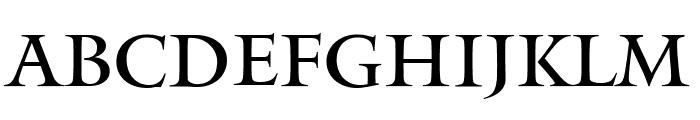 Mantinia Regular Font UPPERCASE