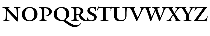 Mantinia Regular Font LOWERCASE