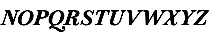 Marcia Bold Italic Font UPPERCASE