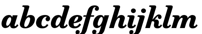 Marcia Bold Italic Font LOWERCASE