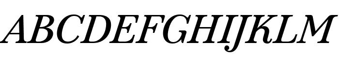 Marcia Italic Font UPPERCASE