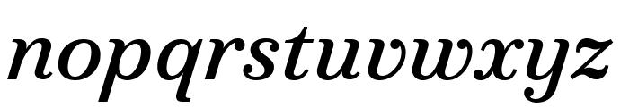 Marcia Italic Font LOWERCASE