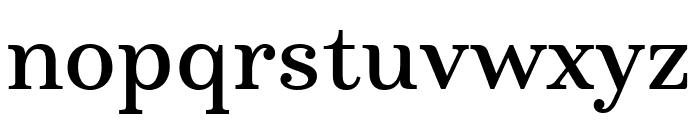 Marcia Regular Font LOWERCASE