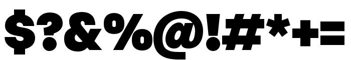 Margin MVB Black Font OTHER CHARS