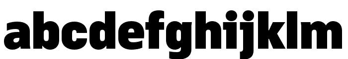 Margin MVB Black Font LOWERCASE