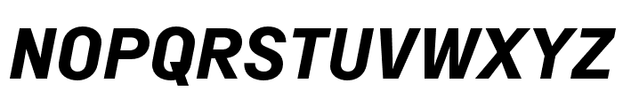 Margin MVB Bold Italic Font UPPERCASE