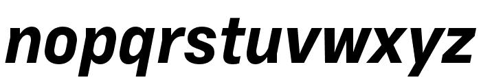 Margin MVB Bold Italic Font LOWERCASE