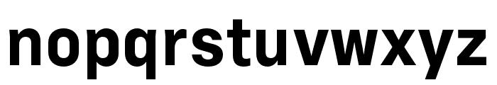 Margin MVB Bold Font LOWERCASE