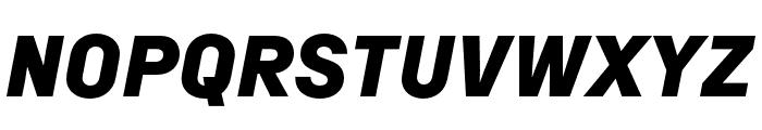 Margin MVB Heavy Italic Font UPPERCASE