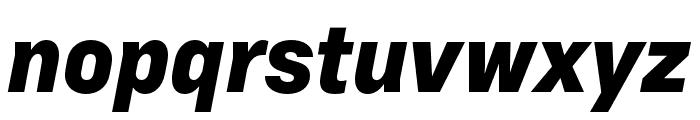 Margin MVB Heavy Italic Font LOWERCASE