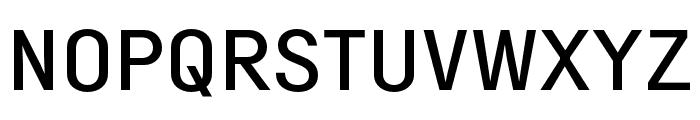 Margin MVB Medium Font UPPERCASE