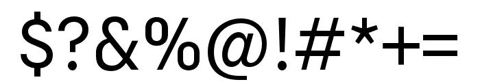 Margin MVB Semilight Font OTHER CHARS