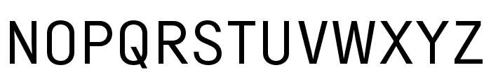 Margin MVB Semilight Font UPPERCASE