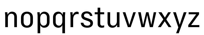 Margin MVB Semilight Font LOWERCASE