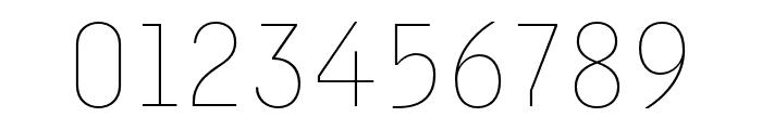 Margin MVB Thin Font OTHER CHARS