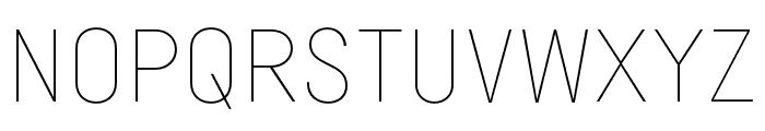 Margin MVB Thin Font UPPERCASE
