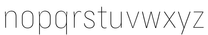 Margin MVB Thin Font LOWERCASE