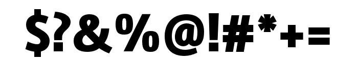 Marine Black Oblicua Font OTHER CHARS