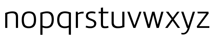 Marine Italic Font LOWERCASE
