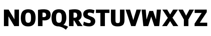 Marine UP Black Font UPPERCASE