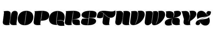 Marshmallow Script Font UPPERCASE