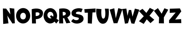 Marvin Shadow Regular Font LOWERCASE