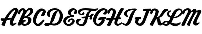 Mascot MVB Rough 2 Font UPPERCASE