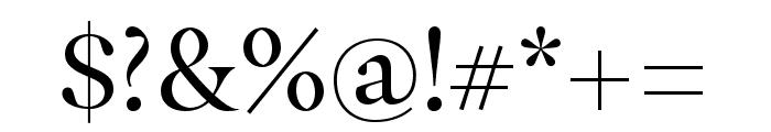 Masqualero Stencil Regular Font OTHER CHARS