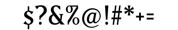 Matrix II Ext OT Semi Narrow Font OTHER CHARS
